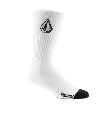 Volcom Socks 3-Pack Full Stone White