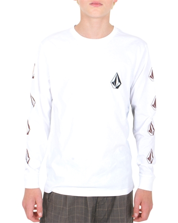 Volcom T-shirt Deadly Stone BSC LS WHT