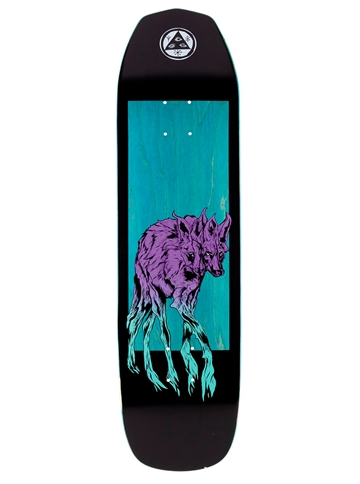 Welcome Skateboard Deck Maned Wolf on Vimana Green