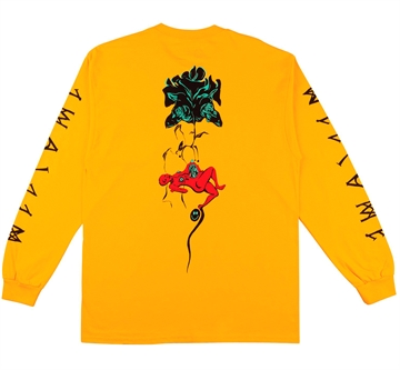 Welcome T-shirt l/s Lessranch Gold