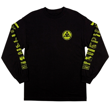Welcome T-shirt Sponsed l/s Black