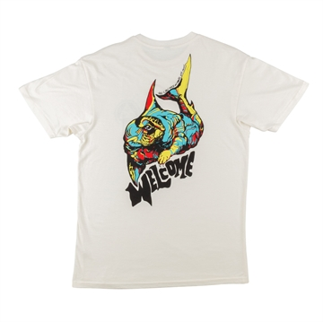 Welcome T-shirt Otter Bone / Primary
