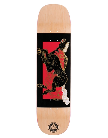 Welcome Skateboard Deck Goodbye Horses 8.125 Amulet