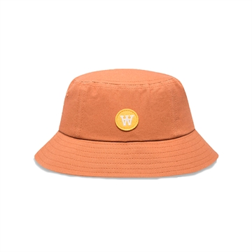 Wood Wood Double A Val Bucket Hat Camel