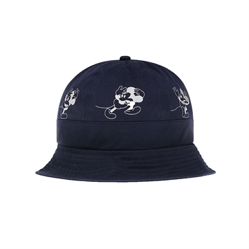 Wood Wood x Disney Bucket Hat Double A Ivan Hat 0804 Navy