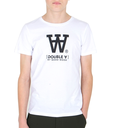 Wood Wood Double A T-shirt Ola Bright White