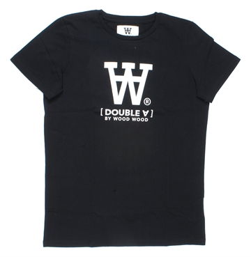 Wood Wood Double A T-shirt Ola Black