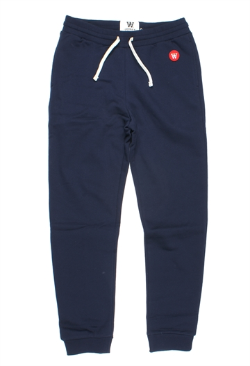 Wood Wood Double A Sweatbukser Ran Trousers Navy