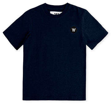 Wood Wood Double A T-shirt Ola Navy