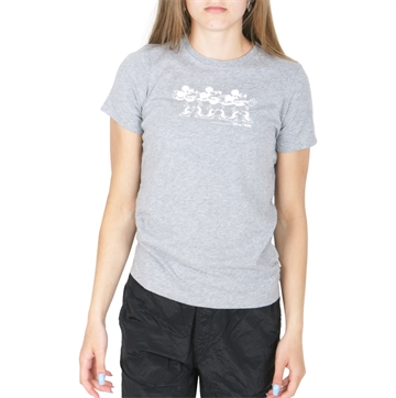 Wood Wood x Disney Double A Ola Tee 5708 Grey Melange