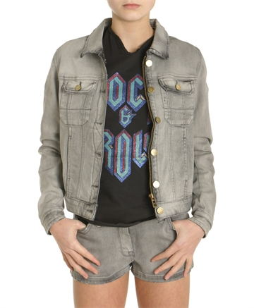 Zadig & Voltaire Denim Jacket Grey X16015