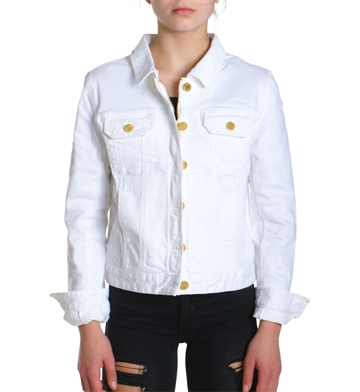 Zadig & Voltaire Denim Jacket White X16018