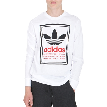 Adidas T-shirt l/s Graphic GD2818 White