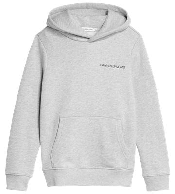 Calvin Klein Hoodie Monogram 00570 Light Grey Heather