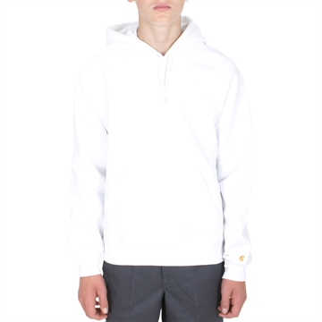 Carhartt Hooded Chase Sweat White/Gold