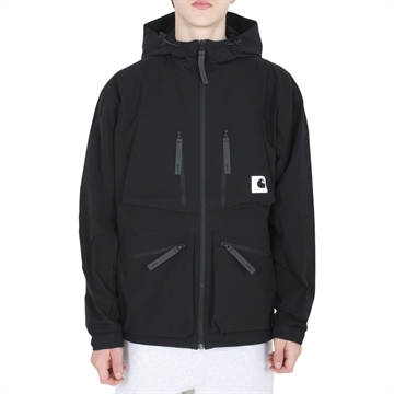 Carhartt WIP Jacket Hurst Mechanical Stretch Ribstop Black