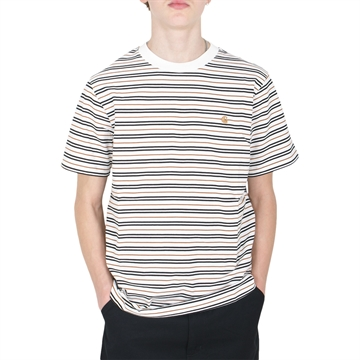 Carhartt WIP T-shirt s/s Akron Strip Wax