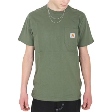 Carhartt T-shirt Pocket s/s Dollar Green