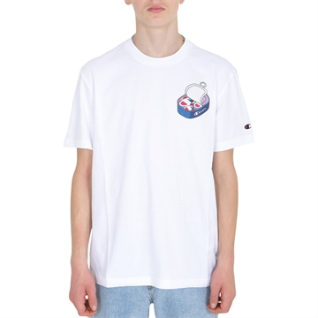 Champion T-shirt Crewneck 216034 WHT