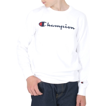 Champion Sweatshirt Crewneck 305379 WHT