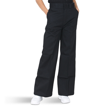Dickies Girls Pants Winnsboro Wide Black