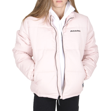 Dickies Jakke Rodessa Puffer Light Pink