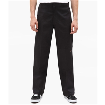 Dickies Bukser Double Knee Black