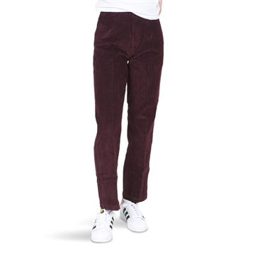 Dickies Girls Pants Elizaville Cord Maroon
