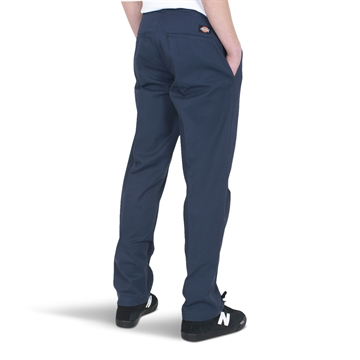 Dickies Slim Straight Work Pant Flex Navy Blue