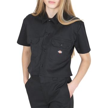 Dickies Work Shirt WM ss Black