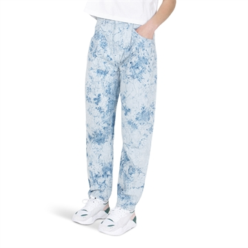 Finger in the Nose Jeans Solange Bleached Blue Tie Dye