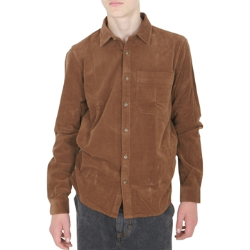 Grunt Wim Cord Shirt 2044-108 Clay Brown