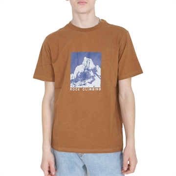 Grunt T-shirt Rock Box Fit 2114-454 Brown