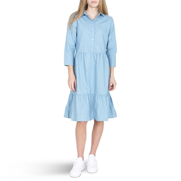 Grunt Denim Dress Mia 2113-083 Light Blue