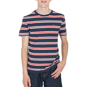 Tommy Hilfiger Boys T-shirt Bold Stripe 05842 Twilight Navy