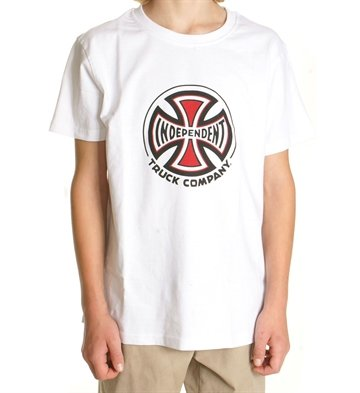 Independent T-shirt Adult s/s Truck Co White