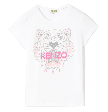 Kenzo T-shirt Tiger Optic White KP10248