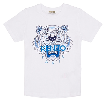 Kenzo T-shirt Tiger Optic White KP10748