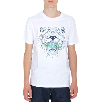 Kenzo T-shirt Tiger 10768 Optic White