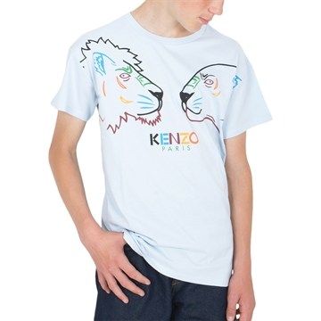 Kenzo T-shirt 10548 Light Blue