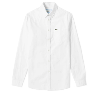 Lacoste Shirt Oxford 1360-00 White