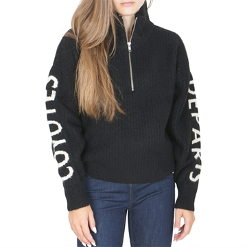 Les Coyotes de Paris Knit Sweat Roxy Noir
