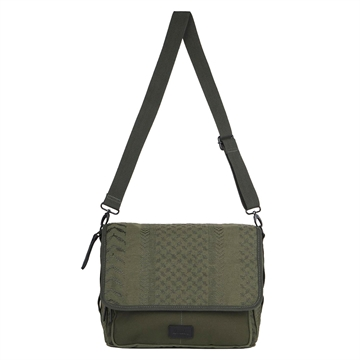 Lala Berlin Messenger Alexine Embroidery Olive