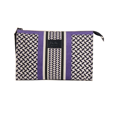 Lala Berlin Cosmetic Bag Pili Colored Purple