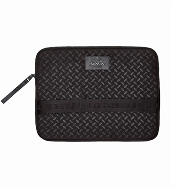 Lala Berlin Laptop Case Kirsten Kufiya Classic Black