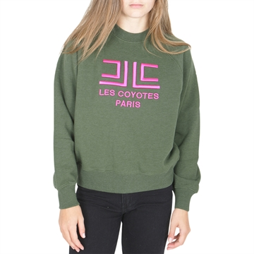 Les Coyotes de Paris Crew Sweat Emily Hunter Melange