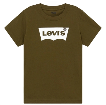 Levis Boys Batwing Tee Olive Night