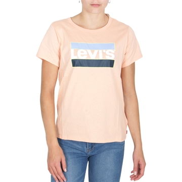 Levis Girls Graphic Tee Peach Nectar