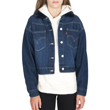 Levis Girls Oversized Trucker Thames