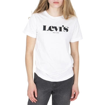 Levis Tee Graphic White/Black